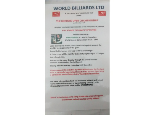 WORLD BILLIARDS