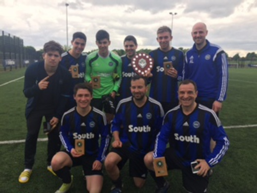 2016-17 MJSL 7 a Side Winners - South Manchester
