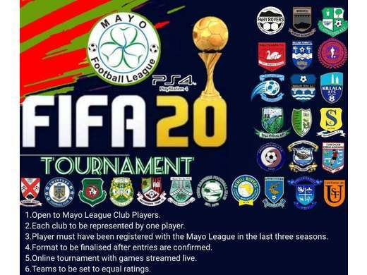 Mayo League FIFA 20 Tournament on PS4