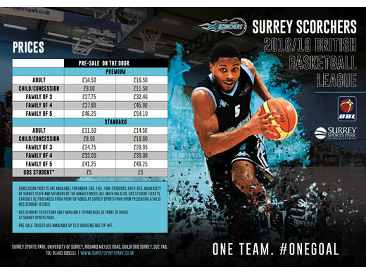 Surrey Scorchers fixtures