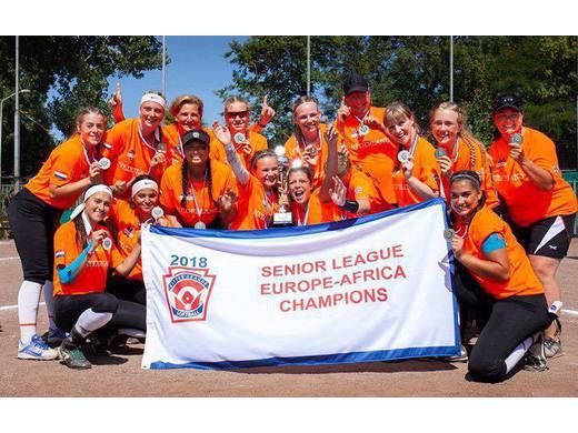 Mooie Little League Softball EK's in Brabant met verschillende kampioenen