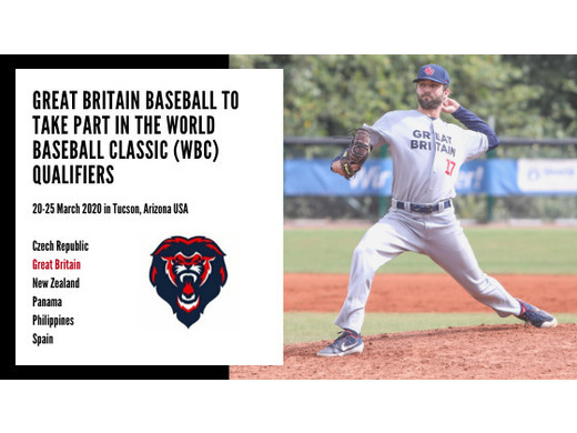 Great Britain Baseball invited to the World Baseball Classic Qualifiers