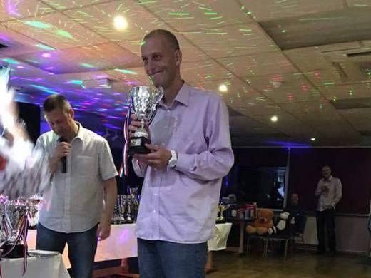 Division 1 Singles Cup Champion -Bradley Organ