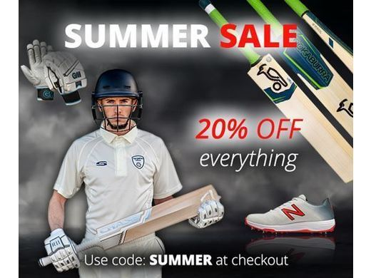 *****STOP PRESS*****: EXTRA 20% OFF SALE AT SERIOUS CRICKET