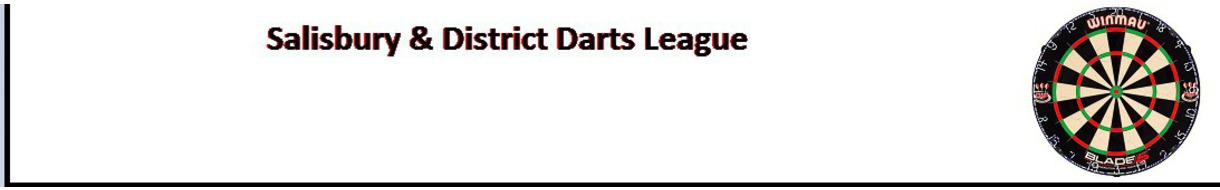 Salisbury & District Darts League (In Aid Of Wiltshire Sight)