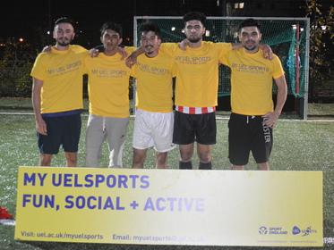 5-a-side Football Tournament 2015 Winners