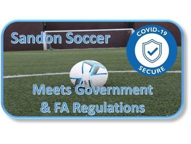Sandon Soccer Covid-19