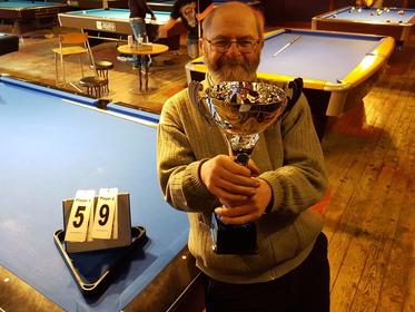 Mick Walkerdine Cup Winner Winter 2018 Julian Barber
