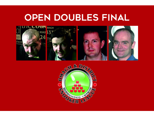 THREE LOUGHRAN BROTHERS AND PENNY TO CONTEST OPEN DOUBLES TITLE