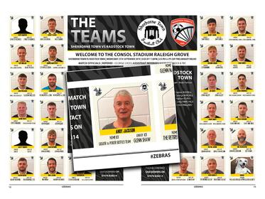 The Zebras Football Team - Andy Jackson