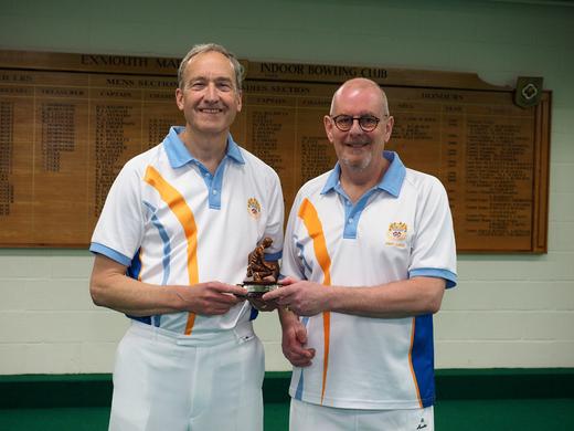 Chris Price & Andy Lock - Men's Pairs Champions