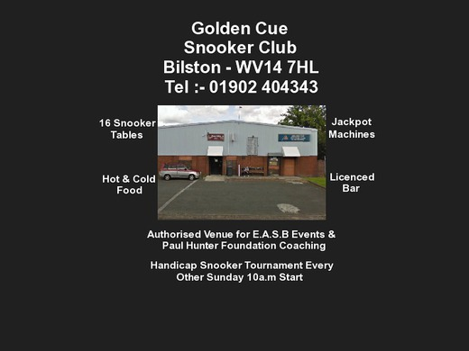 Golden Cue Snooker Club