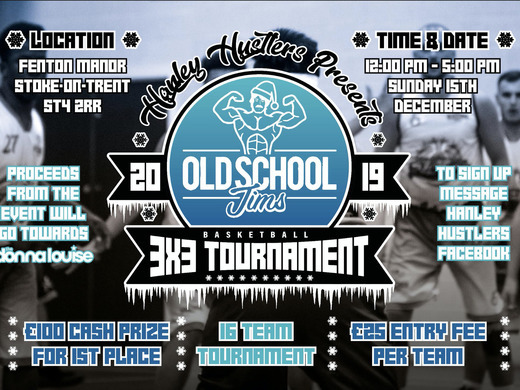 3 x 3 Basketball Christmas Charity Tournament