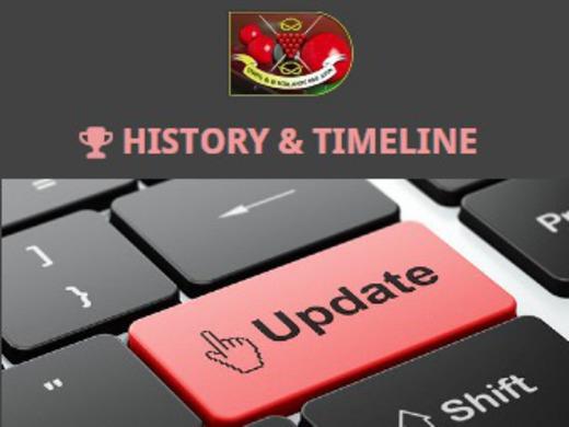 History & Timeline Updates