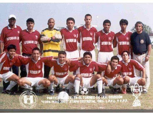 Campeón Distrital Liga de Cercado de Lima 2003.