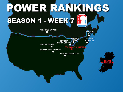 Open Division Power Rankings - Week 7