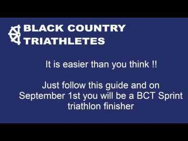 Just Tri It - Your roadmap to the September 2019 BCT Sprint