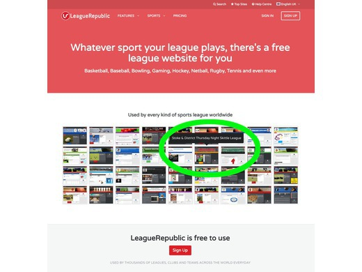 League Republic uses our site as an example…