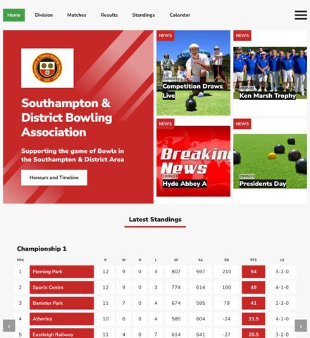 Southampton & District Bowling Association