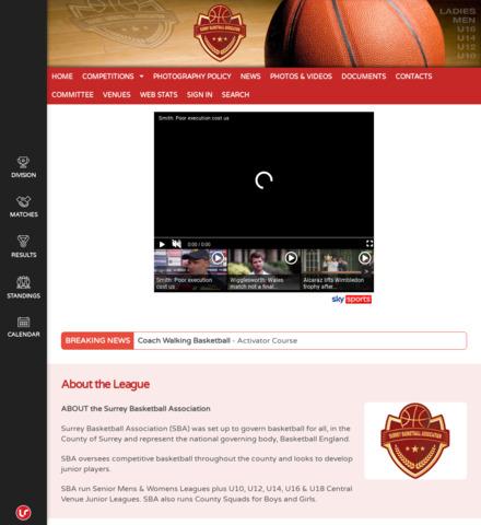 Surrey Basketball - screenshot