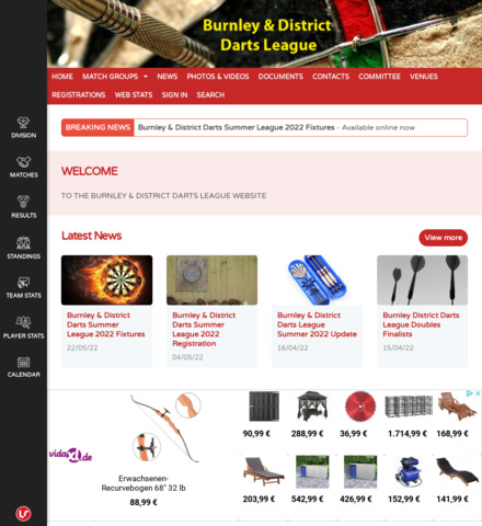 Burnley and District Darts League