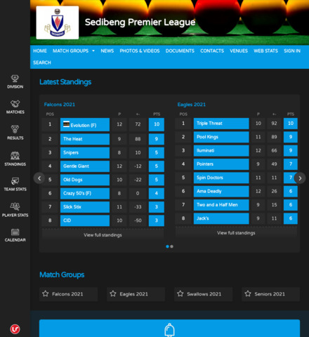 Sedibeng Premier League - screenshot