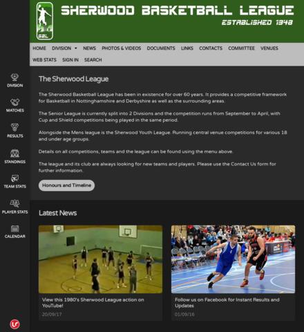 Sherwood Basketball League - screenshot
