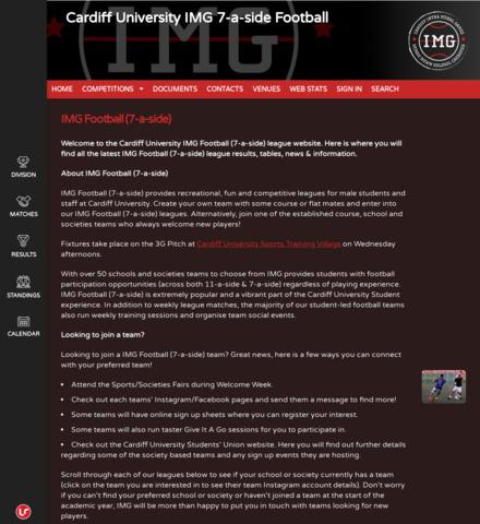 Cardiff University IMG 7-a-side Football - imagem