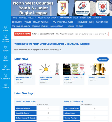 NWC Junior & Youth Rugby League