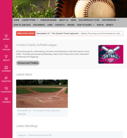 London Charity Softball League (LCSL)