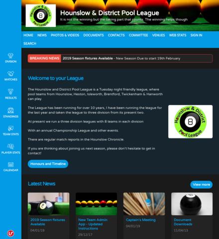 Hounslow & District Pool League
