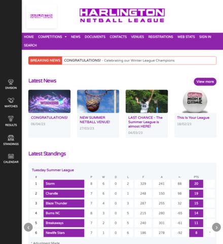 Harlington Netball League