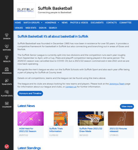 It's all about Basketball in Suffolk - screenshot