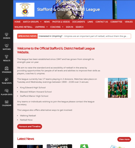 Stafford & District Netball League