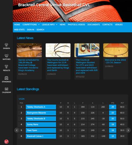 Bracknell Central Venue Basketball CVL