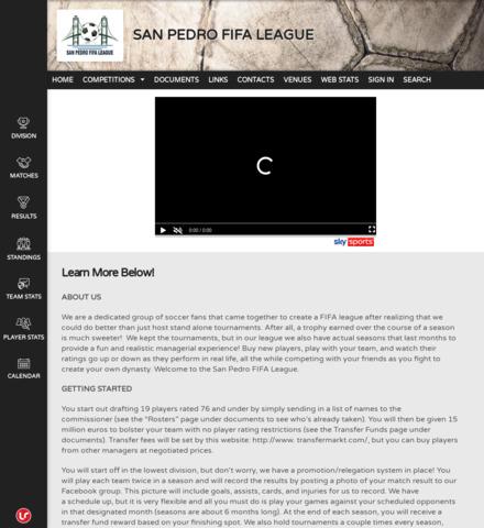 SAN PEDRO FIFA LEAGUE