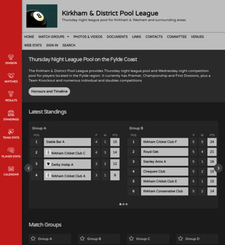 Kirkham & District Pool League
