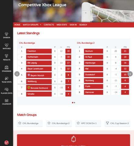 Competitive Xbox League - screenshot