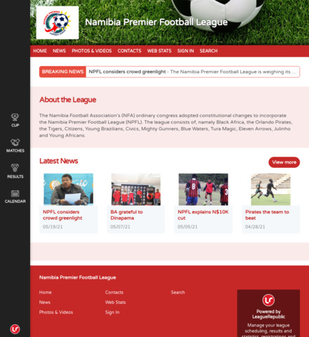 Namibia Premier Football League - imagem