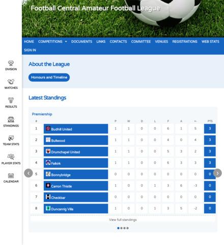 Football Central - screenshot