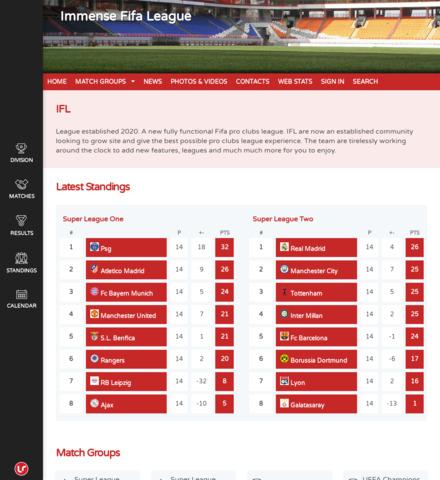 Immense Fifa League - screenshot