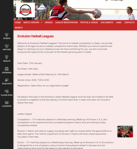 Evo Netball Leagues