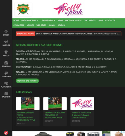 Keep it Local Magazine and Judge Promotions Interpool League - screenshot