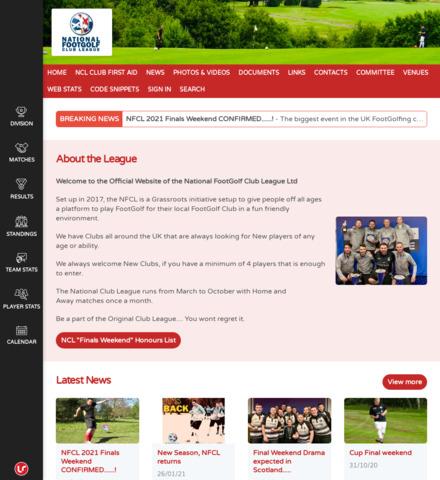 National FootGolf Club League - screenshot