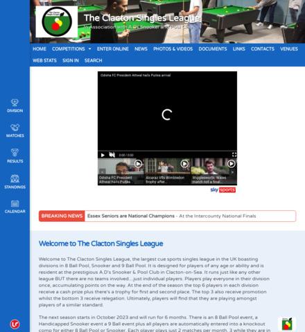 The Clacton Singles League