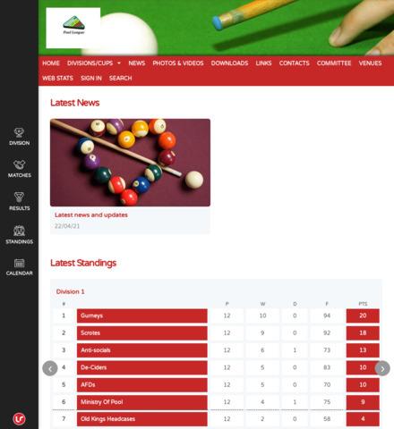 Weston Pool League