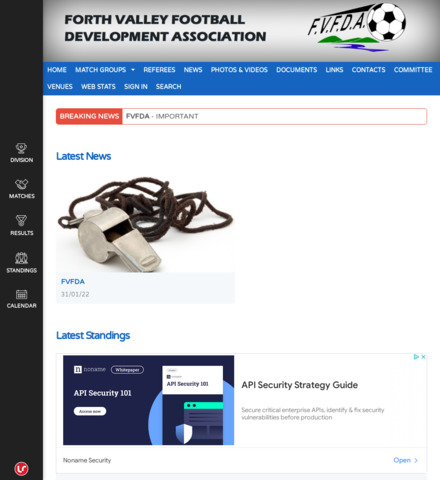 Forth Valley Football Development Association