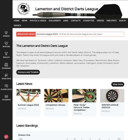 Lamerton and District Darts League