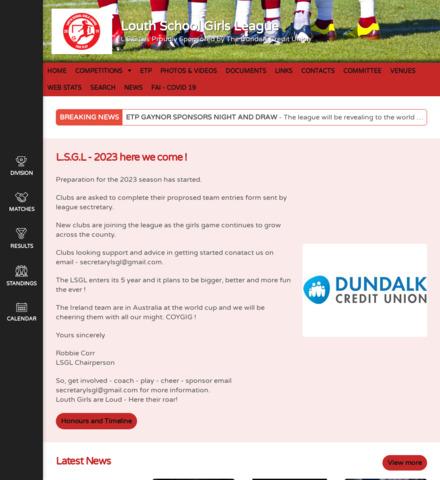 Louth School Girls League