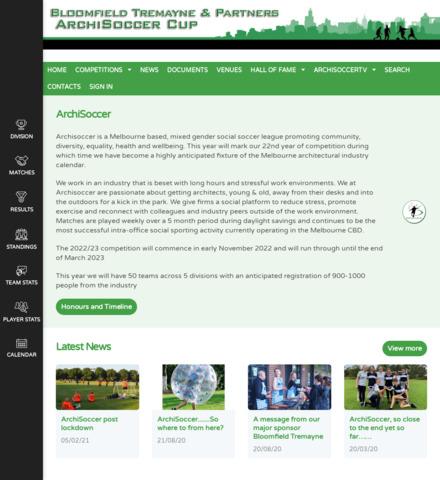ArchiSoccer Cup - screenshot